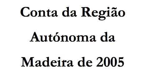 Conta da RAM 2005