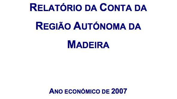 Conta da RAM 2007