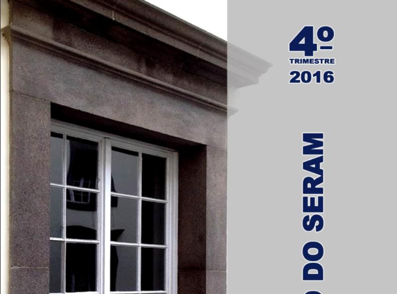 Relatório Trimestral SERAM - 4T/2016