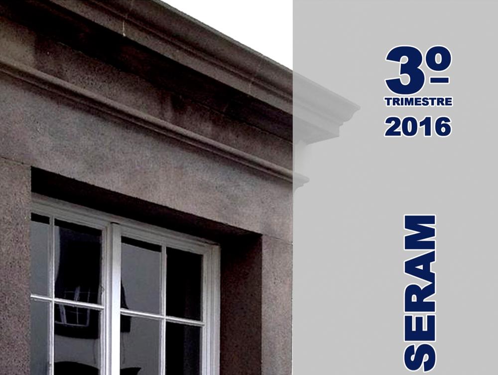 Relatório Trimestral SERAM - 3T/2016