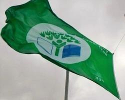 João de Deus com mais uma Bandeira Verde