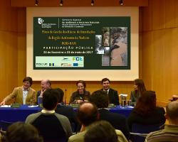 Primeira sessão de apresentação e discussão pública do PGRI-RAM