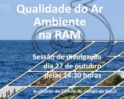 Qualidade do Ar Ambiente na RAM