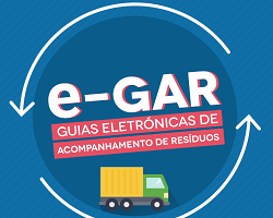 e-GAR - Guias eletrónicas de acompanhamento de resíduos