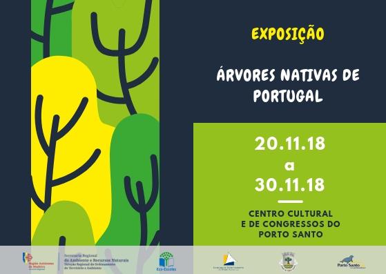Exposição | Árvores Nativas de Portugal | Porto Santo