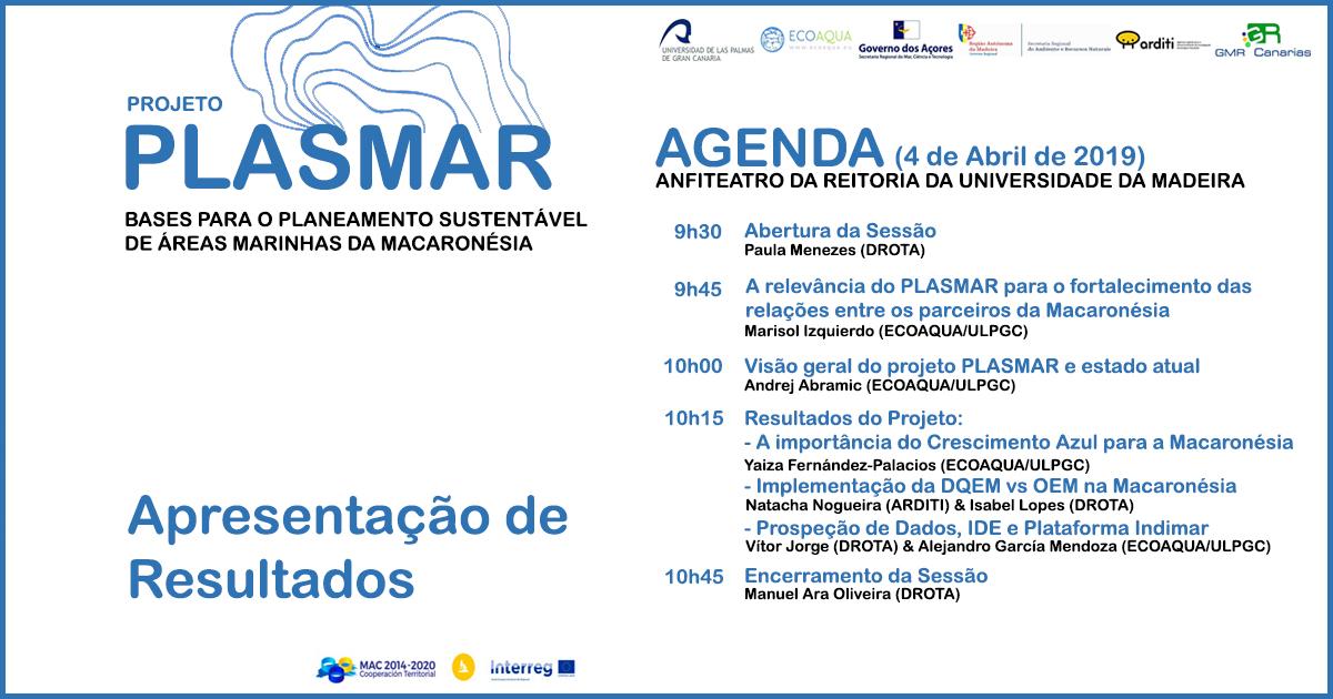 Apresentação Pública do Projeto PLASMAR