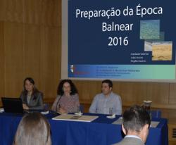 Preparação da Época Balnear 2016