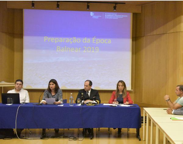 Sessão: Preparação da Época Balnear 2019