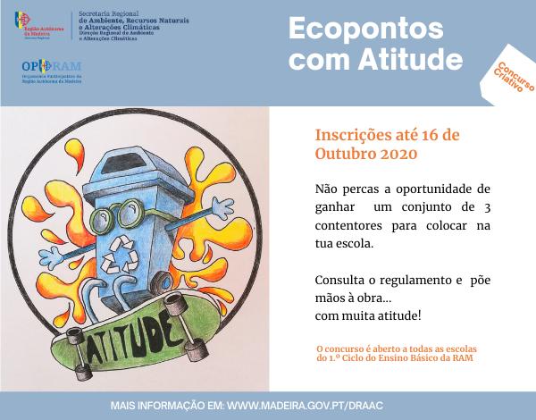 Concurso Criativo: Ecopontos com Atitude