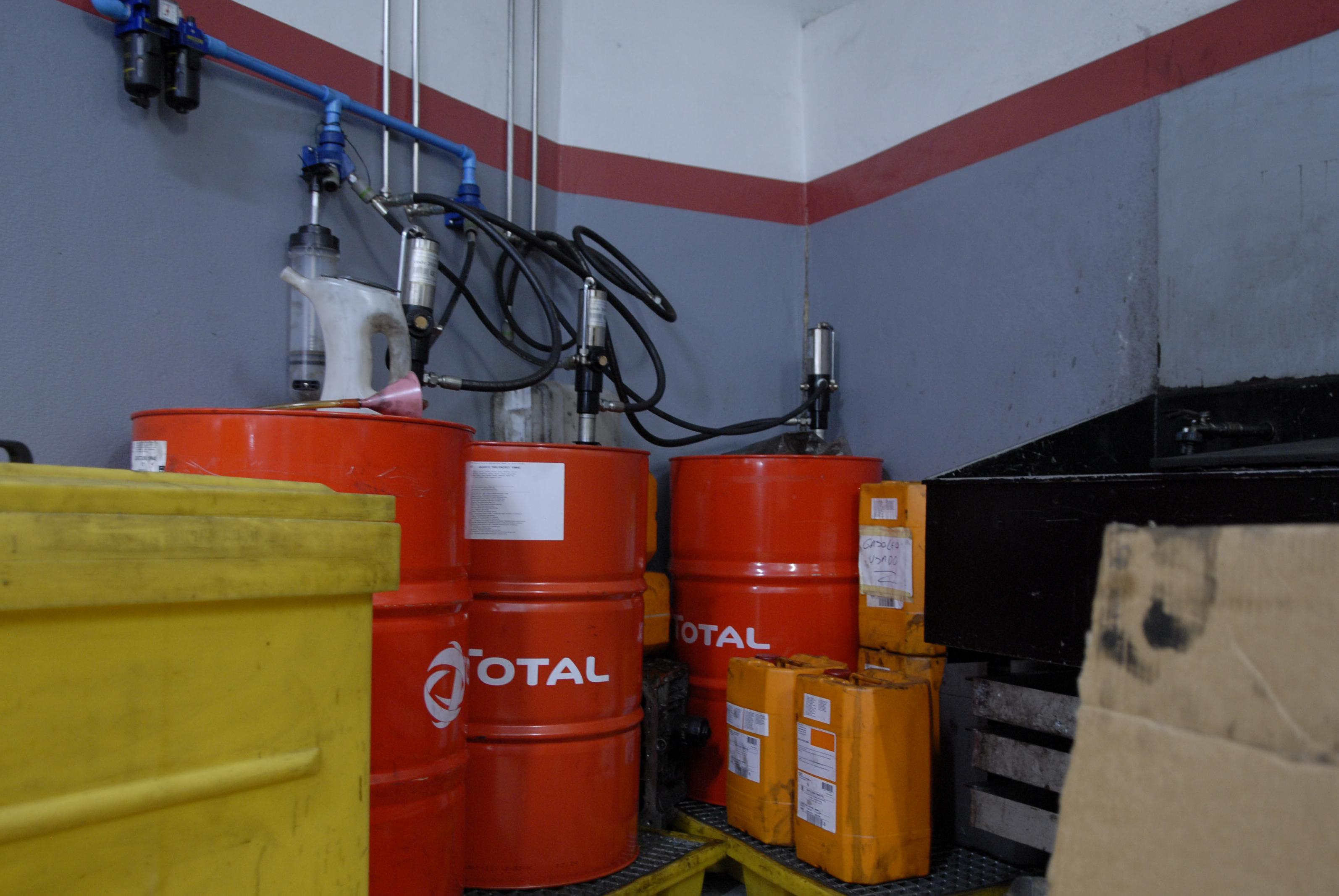 Recolha de óleos usados de produtores/detentores, sem código APA