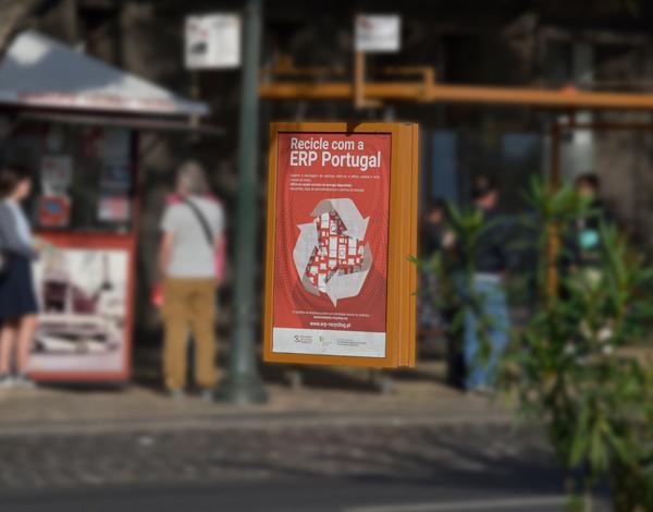 """Campanha """"Recicle com a ERP Portugal"""" pela cidade do Funchal"""