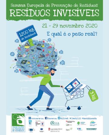 Mupi - Semana Europeia da Prevenção de Resíduos