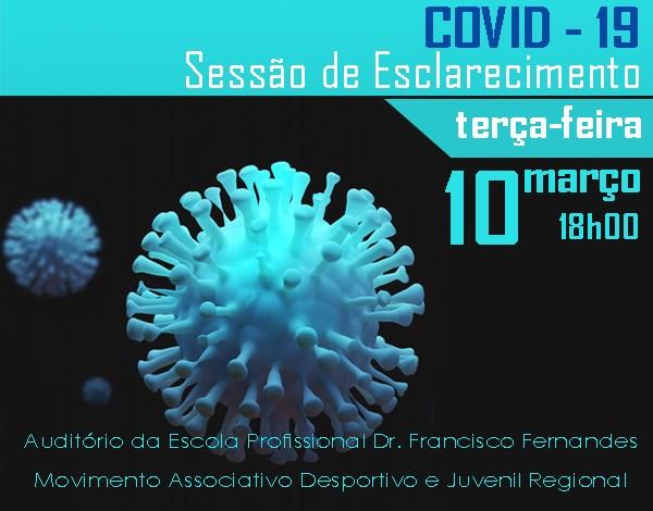 Sessão de esclarecimento sobre o Coronavírus COVID-19
