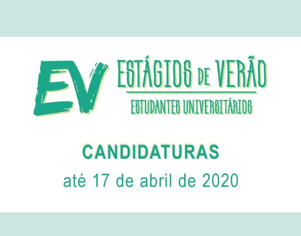 Programa Estágios de Verão 2020