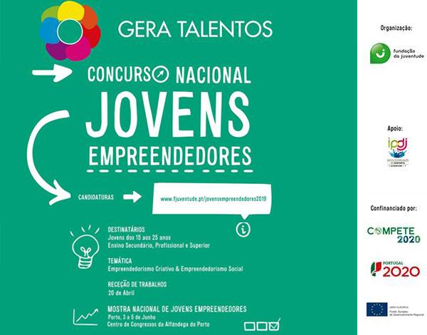 Concurso Nacional de Jovens Empreendedores - 2ª edição