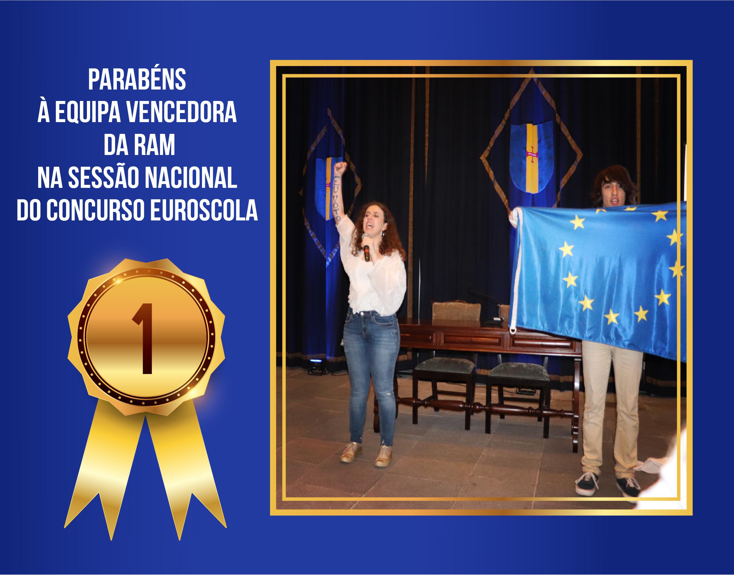 Madeira Vencedora Nacional do Euroscola