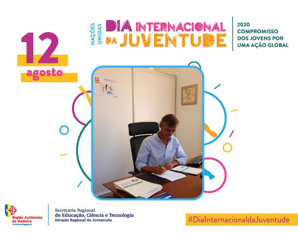 Cerimónia do Dia Internacional da Juventude em ambiente associativo