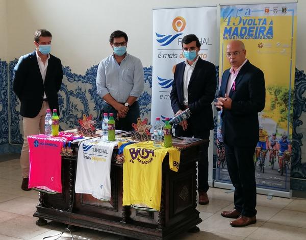 Governo Regional apoia Volta à Ilha em Ciclismo