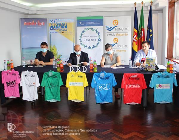 Apresentação da 46.ª Volta à Madeira em bicicleta/Hospital da Luz Funchal