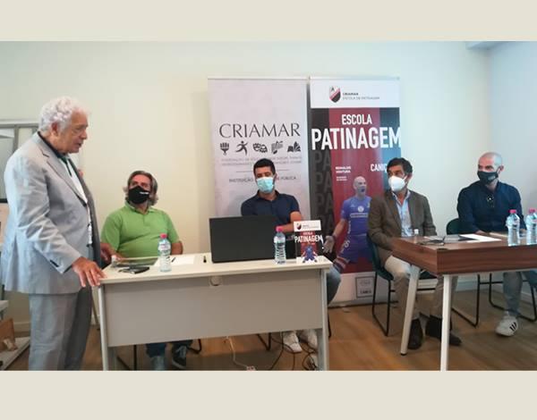 CRIAMAR apresentou Escola de Patinagem
