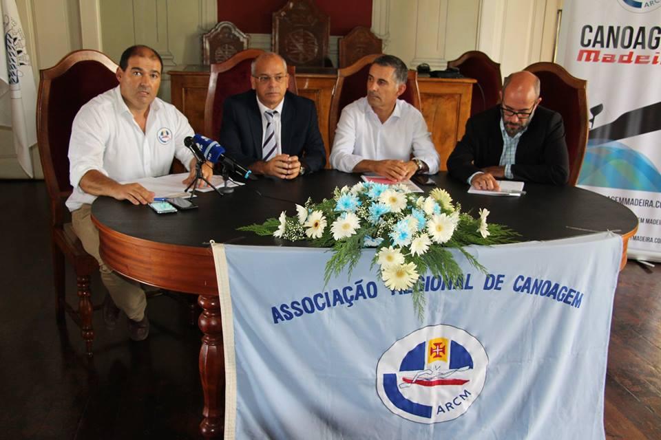 Apresentação do Campeonato Nacional de Canoagem de Mar