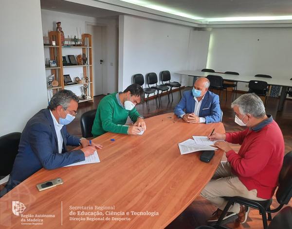 Contratos Programa de Desenvolvimento Desportivo do Plano Regional de Apoio ao Desporto para a época 2020/2021