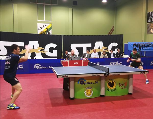 Campeonato Nacional da 1.ª Divisão Masculinos- Ténis de Mesa