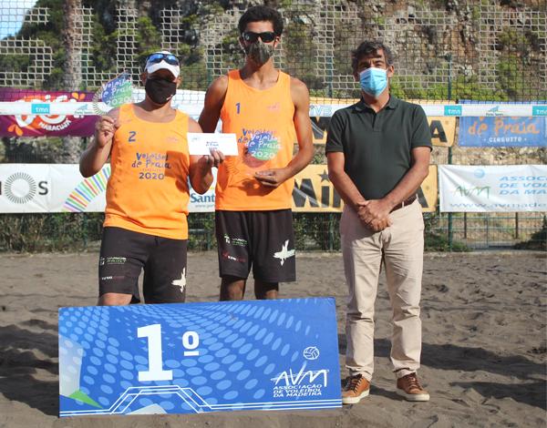 Juan Gonçalves marca presença na última etapa da competição de Voleibol de Praia