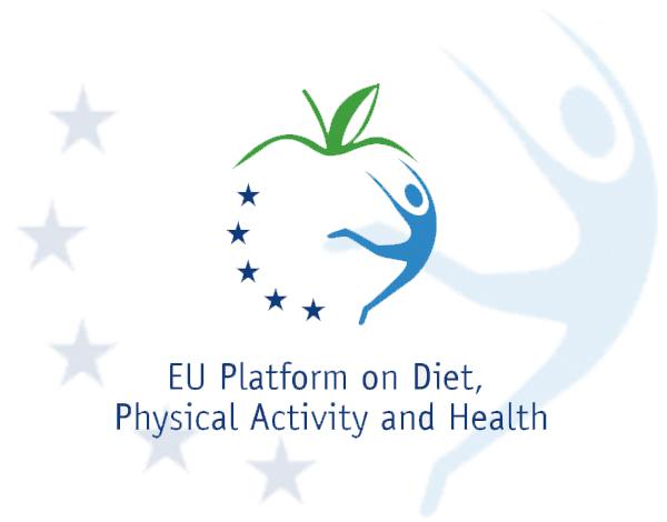 Plataforma de ação sobre dieta, atividade física e saúde