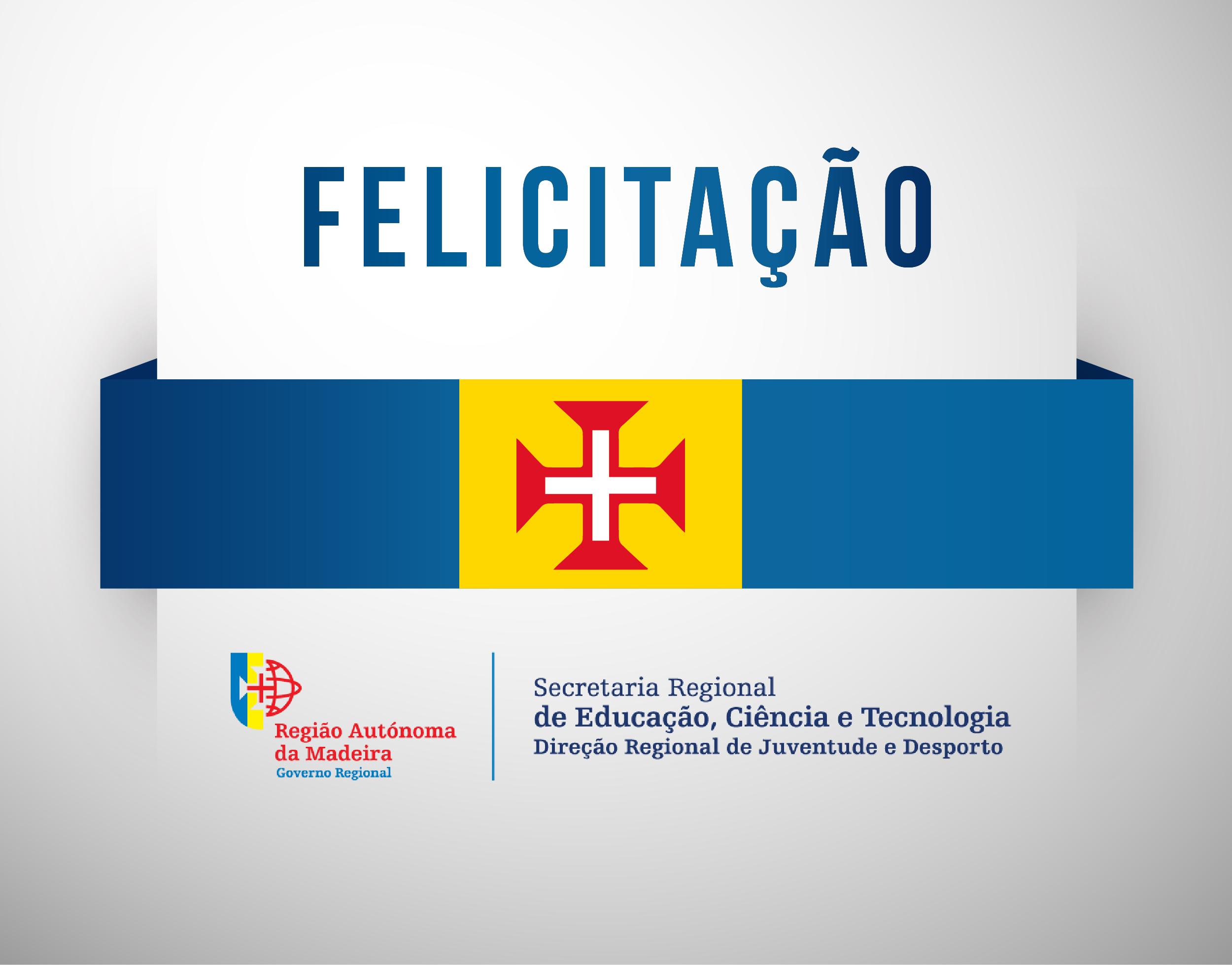 Felicitação – Joana Soares (Associação Cultural e Desportiva do Jardim da Serra)