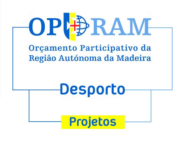 OPRAM 2019- Projetos Desportivos