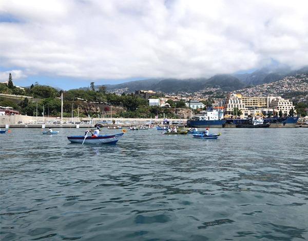 16.ª Regata de Canoas Tradicionais da Madeira