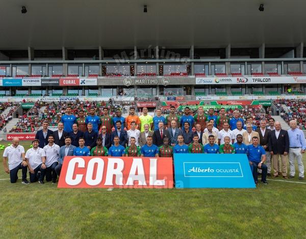 Apresentação oficial do plantel de futebol profissional do Club Sport Marítimo da Madeira