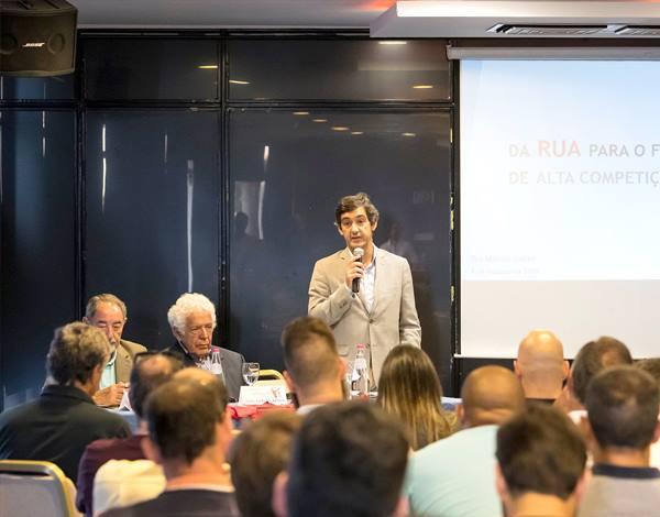 """Sessão de Abertura da ormação """"Da RUA para o futebol de alta competição"""""""