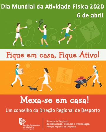 Mupi Dia Mundial da Atividade Física