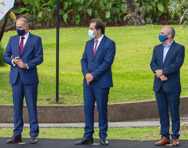 Cerimónia de entrega de louvores e homenagens no âmbito do desporto