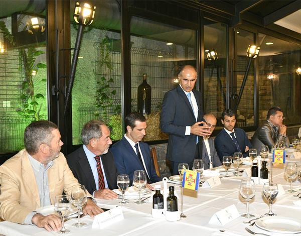 Federação Portuguesa de Futebol e Associação de Futebol da Madeira promoveram jantar