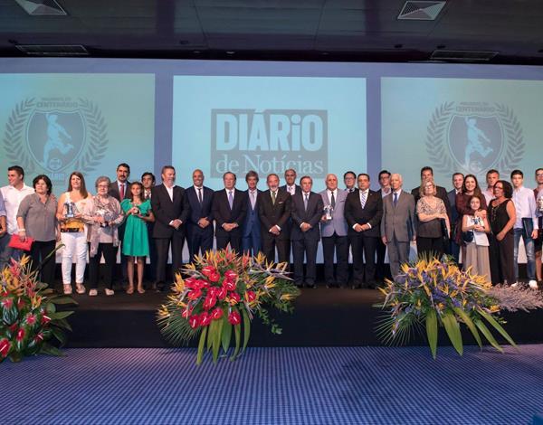 Gala comemorativa do centenário da Associação de Futebol da Madeira