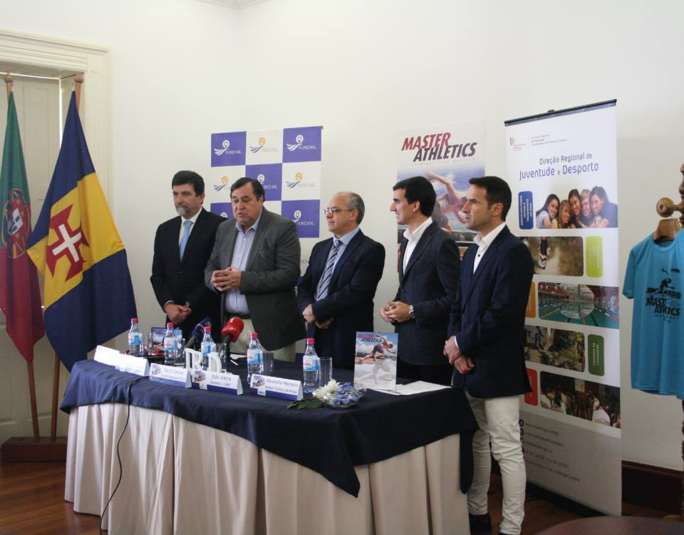 Apresentação do I Meeting de Masters Internacional da Madeira