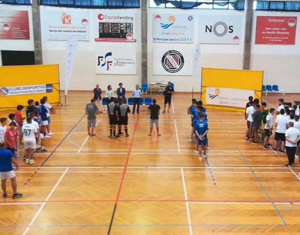 Cerimónia de Abertura do IV Torneio Internacional Funchal Futsal Cup