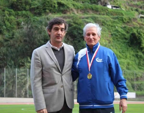 Entrega de prémios I Meeting de Masters Internacional da Madeira- 26 de janeiro