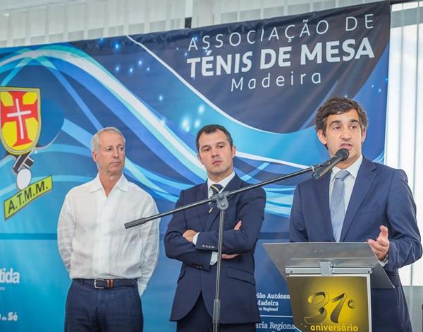 31.º Aniversário da Associação de Ténis de Mesa da Madeira