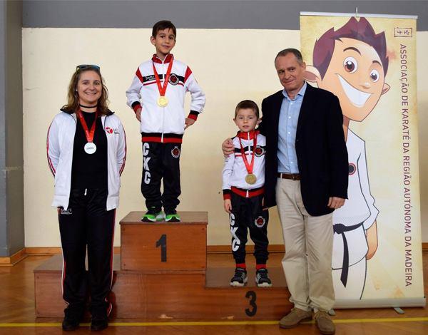 Entrega de Medalhas do Ranking 2017/2018 da Associação de karaté da Região Autónoma da Madeira
