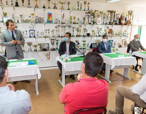 Tomada de posse dos órgãos sociais do Clube Sport Juventude de Gaula