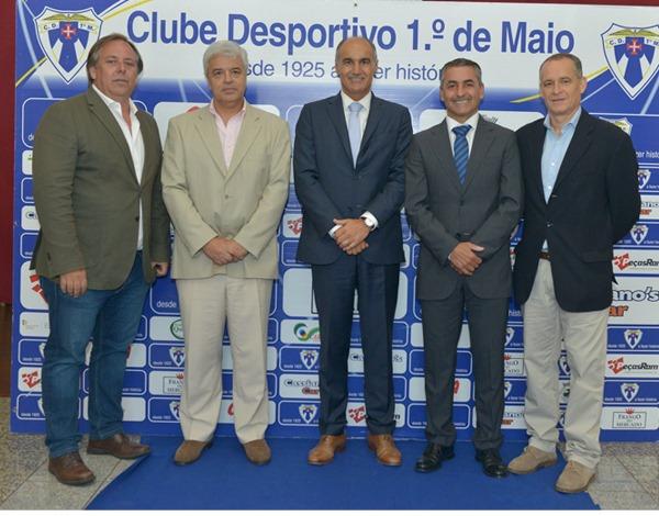 Comemorações do 94.º aniversário do Clube Desportivo 1.º de Maio