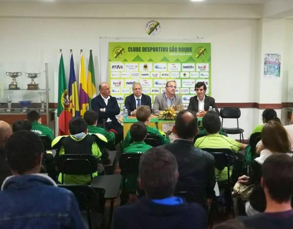 Apresentação do VI Torneio de Hóquei em Patins do CD São Roque