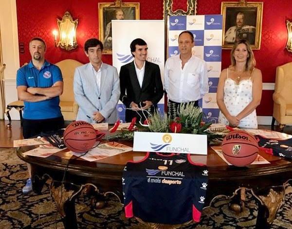 """Apresentação do V Torneio de Basquetebol """"Cidade do Funchal"""""""