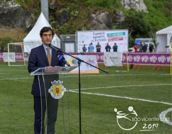 Cerimónia de Abertura do Torneio Internacional São Vicente Cup 2019