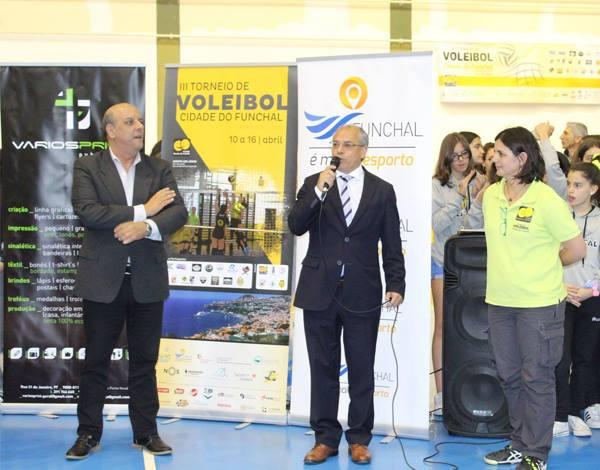 Cerimónia de Abertura do III Torneio CE Levada - Cidade do Funchal