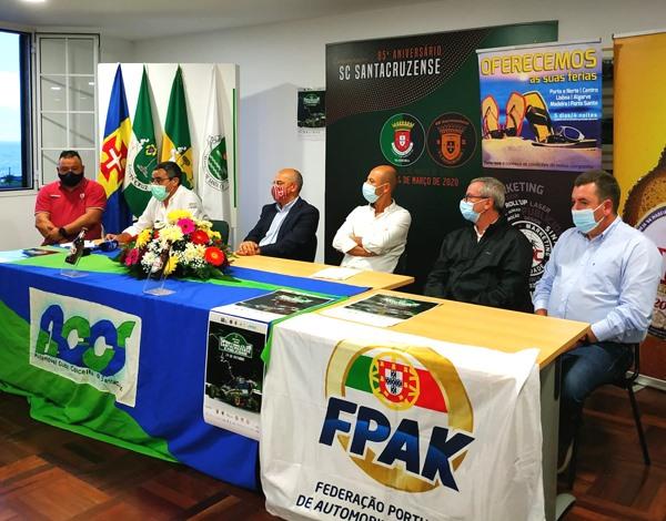 Apresentação da Rampa Sporting Club Santacruzense